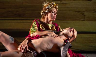 Una escena del 'Ben Hur' teatral