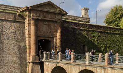 Entrada al Castell de Montjuïc