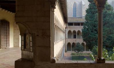 Els 'Vespres musicals' tenen lloc al claustre del monestir