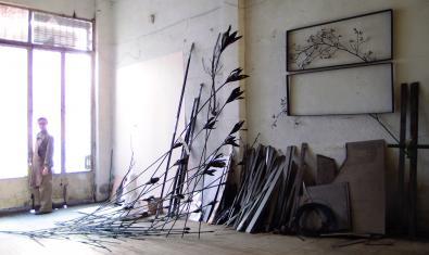 Les escultures de l'artista de Madrid s'exposen a la Setba