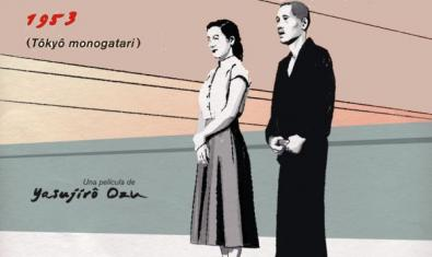 La parella d'ancians, Shukichi i Tomi Hirayama, mirant a l'infinit.