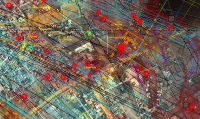 Fils i punts de connexió de les xarxes de comunicació.