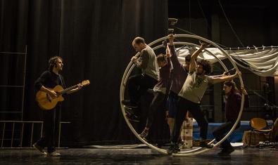 Un moment de la representació del Circ d'Hivern d'enguany