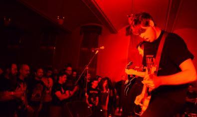 Una imatge de la banda nord-americana de rock Kowloon Walled City