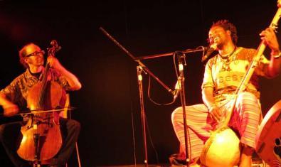 Els dos músics que tocaran al CCCB aquest divendres, durant un concert anterior