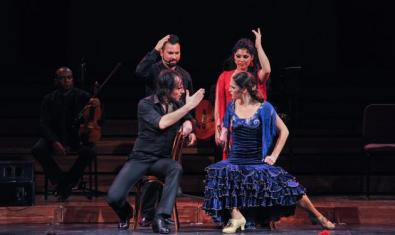 Un moment de l'espectacle 'Ópera y Flamenco'