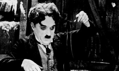 Charles Chaplin in 'Gold Fever'