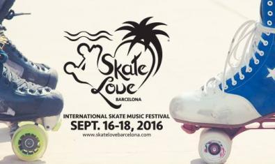 Cartel de l'Skate Love Festival