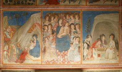 Les pintures de la capella de Sant Miquel són l'eix del taller que es farà al monestir de Pedralbes aquest agost