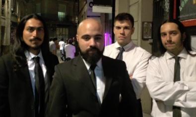 Els integrants de la banda Tarantination