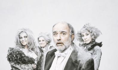 Francesc Orella, Cristina Plazas, Bárbara Granados i Nina caracteritzats per representar 'L'últim acte'