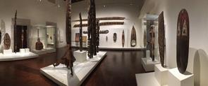 Una de les sales del Museu de Cultures del Món