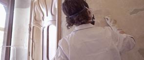 Feines de restauració a la Casa Batlló
