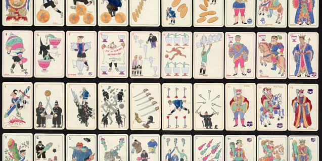 'Una mà de cartes'