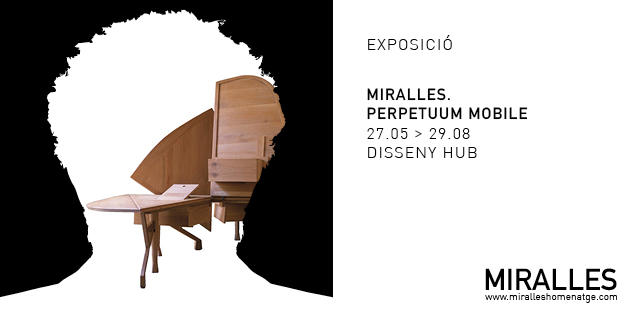 Imatge gràfica de la mostra 'MIRALLES. Perpetuum Mobile'