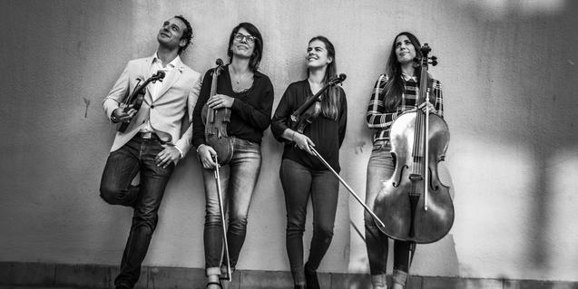 El Quartet Moana, amb 'Dones Compositores', el 7 de març