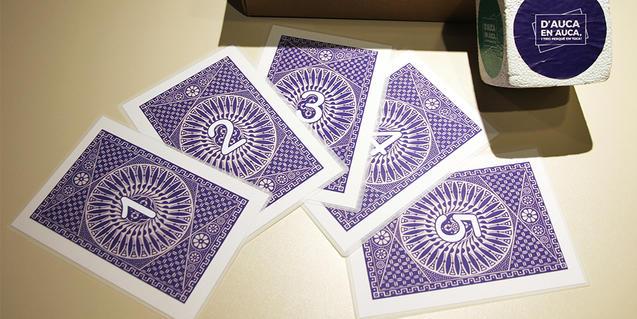 Les cartes del joc. Foto: ©Museu Frederic Marès. CDiR.