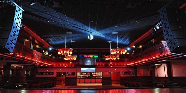 Vista interior de la Sala Apolo donde se celebra la festa