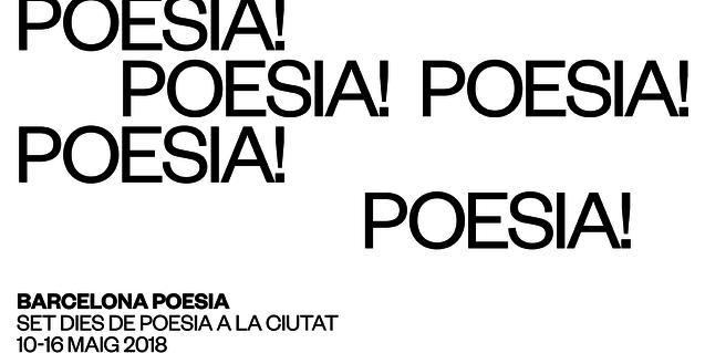 The 21st edition of the Barcelona Poetry festival