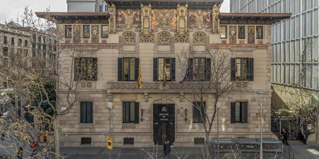 Façana del Palau Montaner