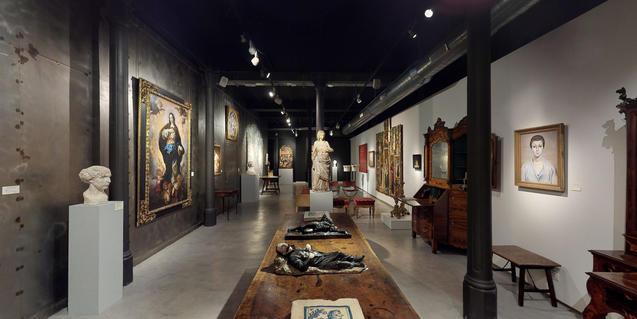 La galeria Artur Ramon Art està tancada al públic i ofereix exposicions virtuals