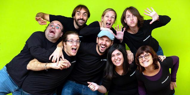 Una imagen promocional del grupo.