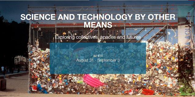 Cartell que anuncia les trobades de ciència i tecnologia