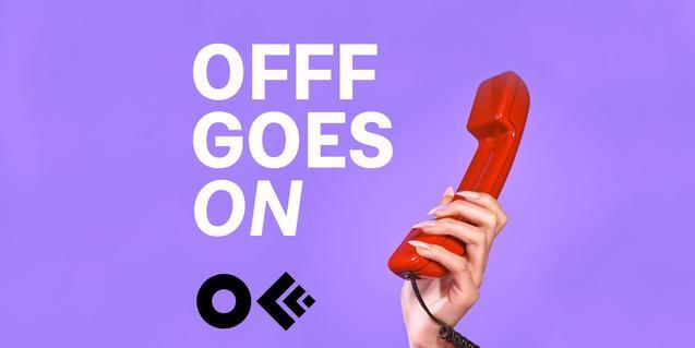 'OFFF goes online' és la iniciativa del Festival Internacional de Creativitat, Art i Disseny Digital de Barcelona