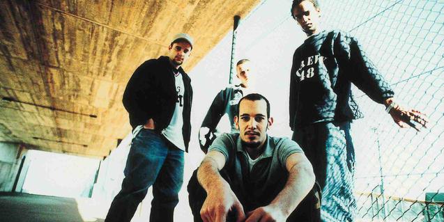 Els components del grup de rap i hip hop 7 Notas 7 Colores
