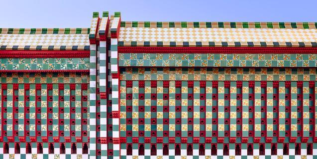 Con el concurso #QuédateEnCasaVicens aprenderéis muchas cosas sobre el edificio de Gaudí