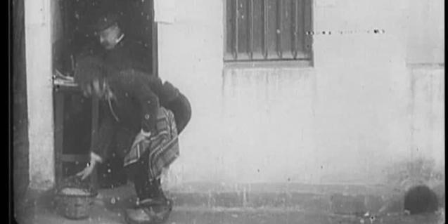 Fotograma de 'L'hereu de can Pruna' (1904) de Segundo de Chomón