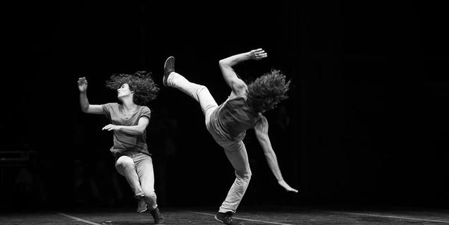Amir and Hemda, parella d'acròbates que actuaran en la nova edició de l'EP de La Central del Circ