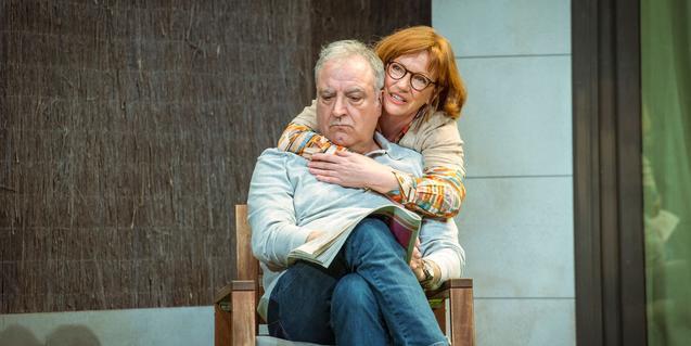 Rosa Renom i Jordi Bosch a 'Adossats'