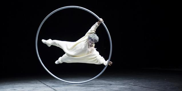 Aime Morales, uno de los artistas que actuará en la Nit de Circ