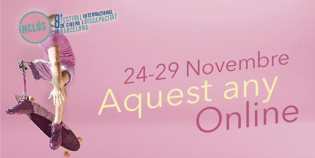 L'Inclús es farà íntegrament en línia, del 24 al 29 de novembre