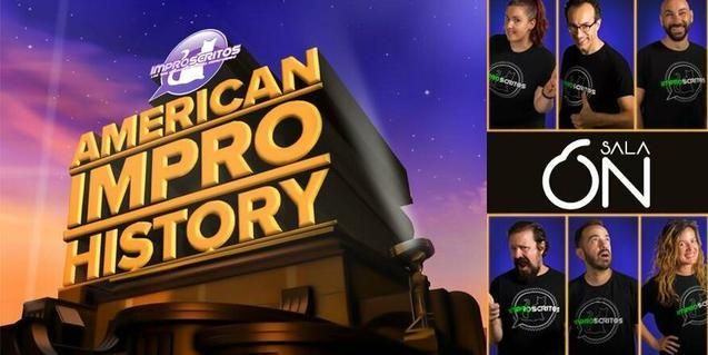 'American Impro History' de la companyia IMPROSCRITOS