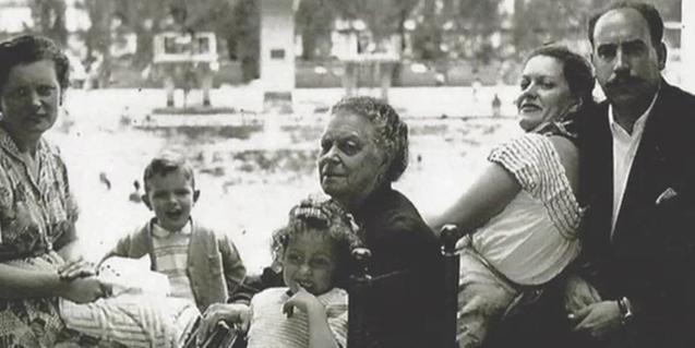Retrat d'un família d'exiliats espanyols al Mèxic del 1939