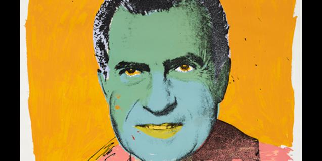 'Vote McGovern', serigrafia de color d'Andy Warhol ©The Trustees of the British Museum