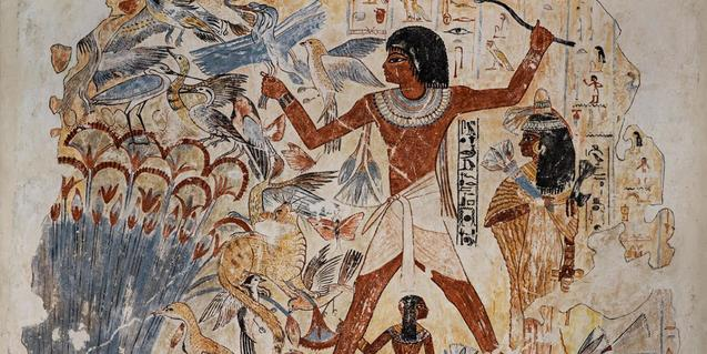 Pintura mural de l'Antic Egipte
