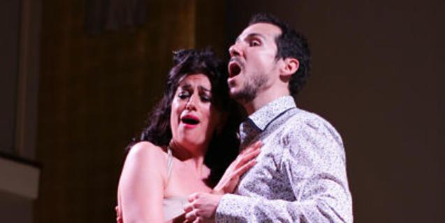 Anna Martínez y Patrik Tapiol interpretan piezas del Modernismo musical catalán