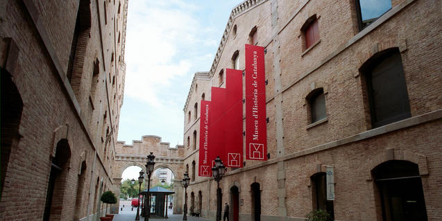 Façana del Museu d'Història de Catalunya