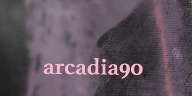 Una imatge abstracta amb diferents textures i el nom del col·lectiu al cartell que anuncia l'esdeveniment