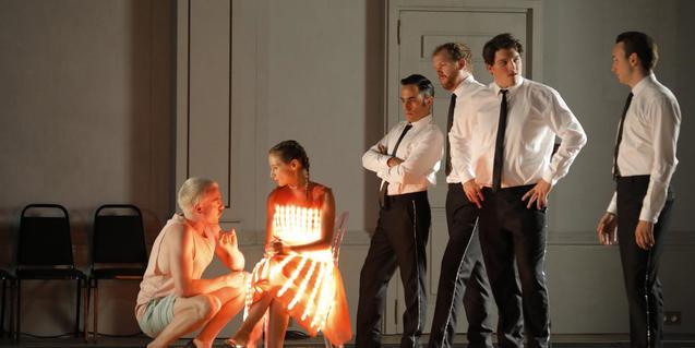 Una escena de l'òpera Ariadne auf Naxos
