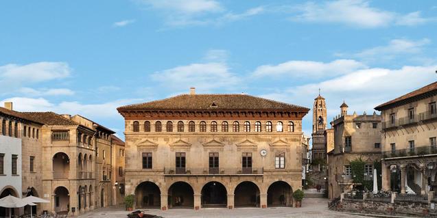 La plaça major del recinte acollirà concerts i altres actuacions.