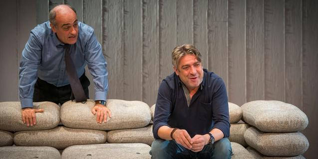 Francesc Orella y Pere Arquillué en 'Art'