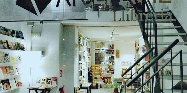 Fotografia de la llibreria Artefakte