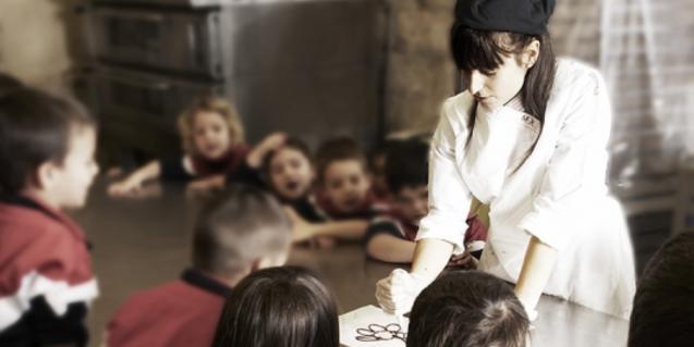Nens participant al taller