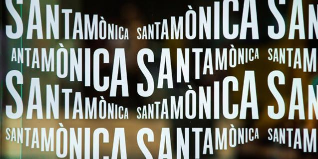Cartel del Arts Sants Mònica