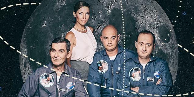Los cuatro protagonistas de la obra que se estrena en el Capitol