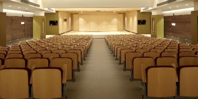 El Auditorio Eduard Toldrà, donde tienen lugar los conciertos